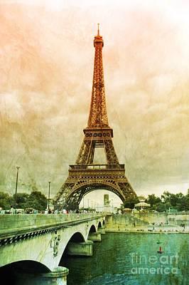 Eiffel Tower Mood Poster