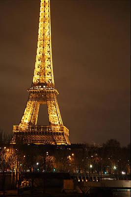 Eiffel Tower - Paris France - 011326 Poster by DC Photographer