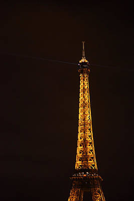 Eiffel Tower - Paris France - 011329 Poster by DC Photographer