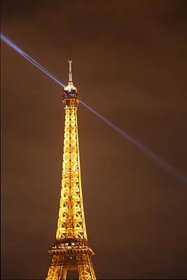 Eiffel Tower - Paris France - 011334 Poster by DC Photographer