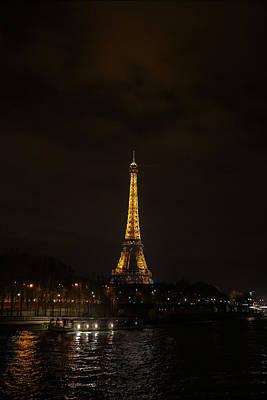 Eiffel Tower - Paris France - 011338 Poster by DC Photographer