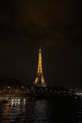 Eiffel Tower - Paris France - 011341 Poster by DC Photographer