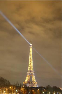 Eiffel Tower - Paris France - 011348 Poster by DC Photographer