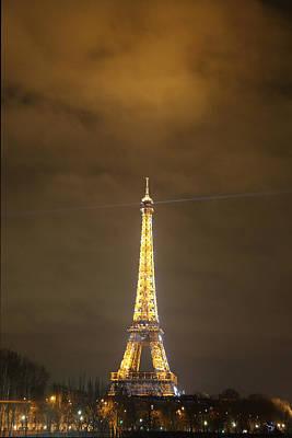 Eiffel Tower - Paris France - 011352 Poster by DC Photographer