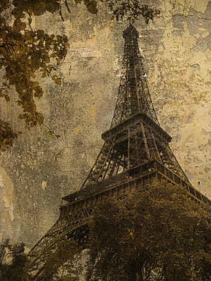 Eiffel Tower Paris France Poster