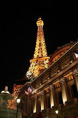 Eiffel Tower - Paris Hotel - Las Vegas Poster by Jon Berghoff