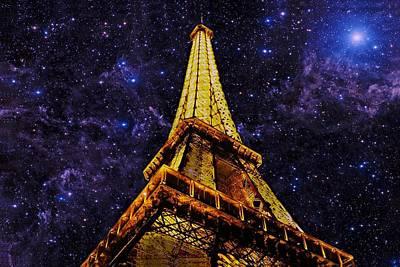 Eiffel Tower Photographic Art Poster by David Dehner