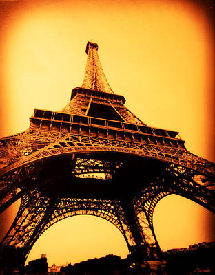 Poster featuring the photograph Eiffel Tower by Renee Anderson