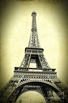 Mighty Eiffel Tower Poster