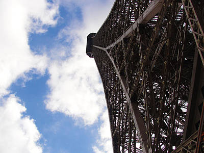 Poster featuring the photograph Eiffel Tower by Tiffany Erdman