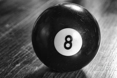 Eight Ball Poster by Paul Ward