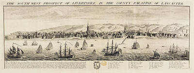 Eighteenth-century Liverpool Poster by British Library