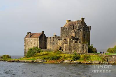 Eilean Donan Castle In Scotland Poster