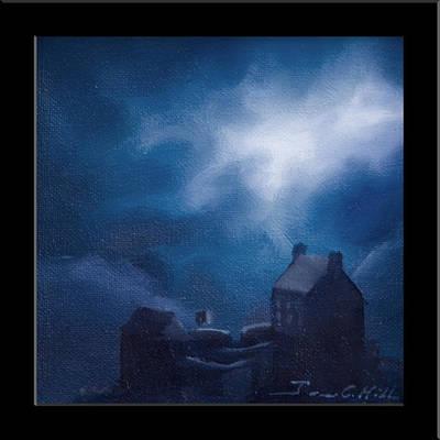 Eilean Donan Castle Poster by James Christopher Hill