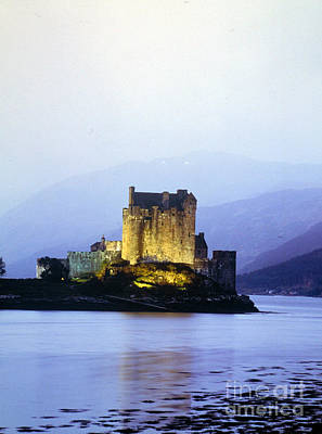 Eilean Donan Castle On The Loch Duich Poster by Rafael Macia