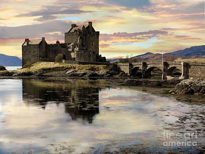 Eilean Donan Castle Scotland Poster by Jacqi Elmslie