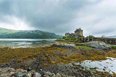 Eilean Donan Castle Poster by John Hickson