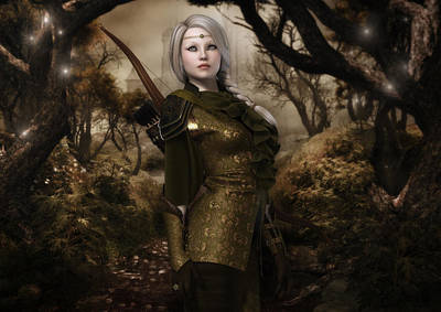 Eiya The Huntress Poster