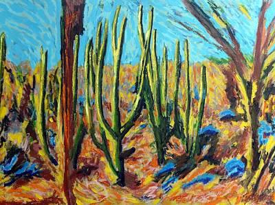 El Bosque Del Desierto Poster
