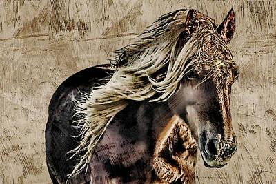 El Caballo Poster by Dancin Artworks