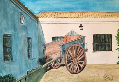 El Carro Poster by Asuncion Purnell