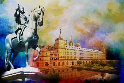 El Escorial Monastry Poster by Catf