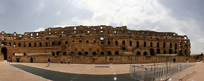 Poster featuring the photograph El Jem by Jon Emery