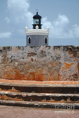 El Morro Light Tower Poster