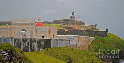 Scenic El Morro Poster