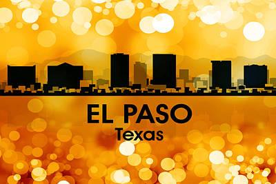 El Paso Tx 3 Poster by Angelina Vick