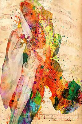 El Violin  Poster by Mark Ashkenazi