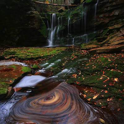Poster featuring the photograph Elakala Falls by Jaki Miller