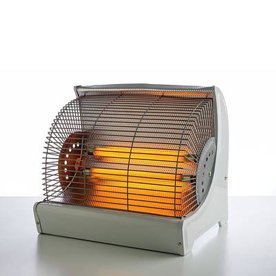 Electric Bar Heater Poster by Science Photo Library