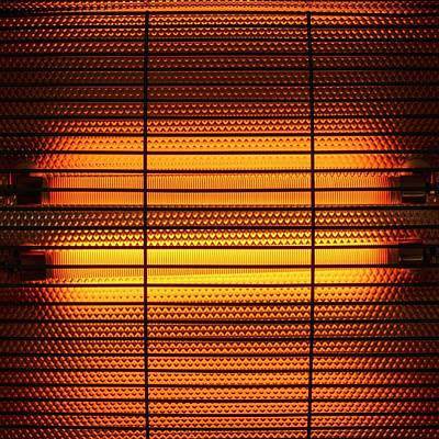 Electric Heater Poster by Science Photo Library