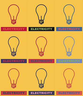 Electric Lamps Poster