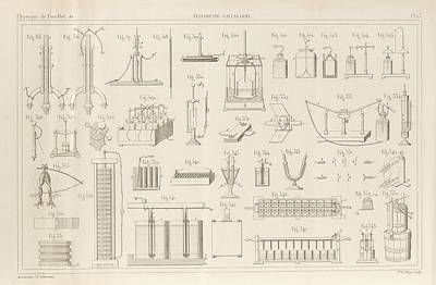Electricity And Galvanism Poster