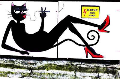 Electrik Cat Poster