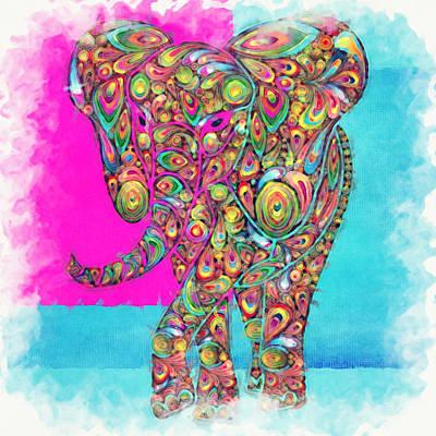 Elefantos - Ptw01a Poster