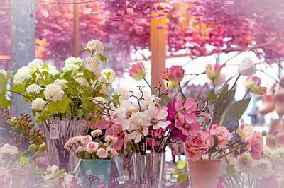 Elegance 1. Amsterdam Flower Market Poster