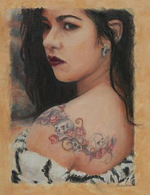 Elegant Ink Poster by Sciandra