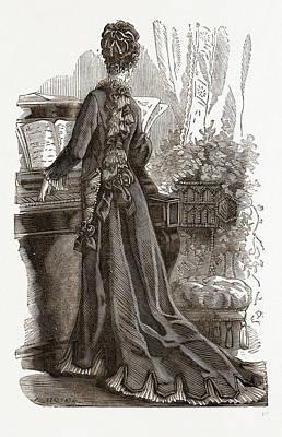 Elegant Robe De Chambre Poster