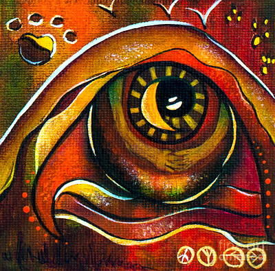 Elementals Spirit Eye Poster