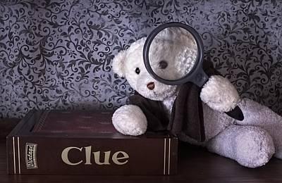 Elementary My Dear Bear Poster by Chrystyne Novack