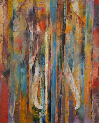 Elephant Poster by Michael Creese