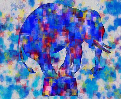 Elephant Blues Poster