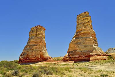 Elephant Feet Rocks Arizona Poster