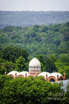 Elephant House At Cincinnati Zoo And Botanical Garden Poster by Paul Velgos