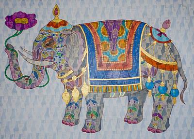 Elephant Poster by Jennifer Mazzucco