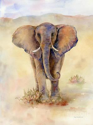Elephant  Poster by Amy Kirkpatrick