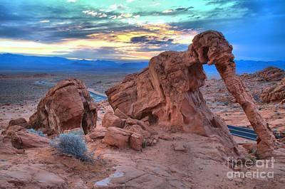 Elephant Rock Sunrise Poster